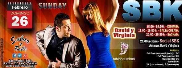Sunday SBK con David y Virginia en Sabor y Baile