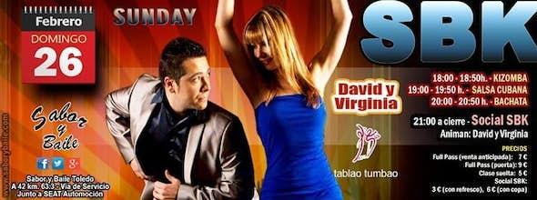 Sunday SBK with David y Virginia at Sabor y Baile
