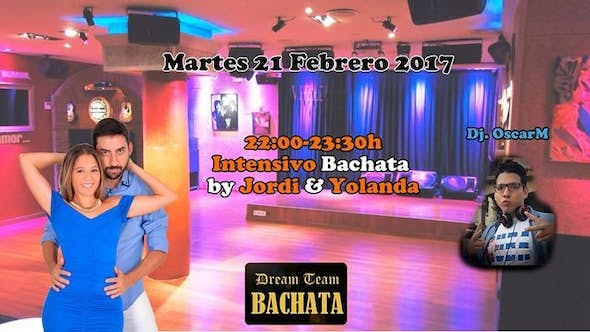 Bachata workshop by Jordi & Yolanda + party