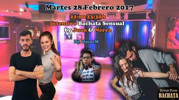 Bachata Sensual Workshop by Juan & Nerea + party