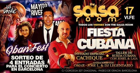 Cuban Party in The Salsa Room - 17 Feb 2017