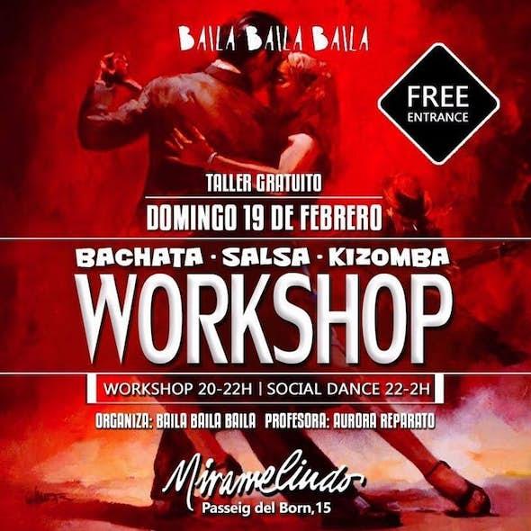Sunday of Bachata & Salsa in El Born Barcelona Free Class