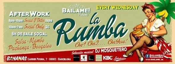 La Rumba by Bailame 22 Febrero en Barcelona
