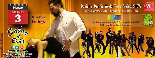 Show del Daniel y Desirée WTP Torrejón en Sabor y Baile Toledo