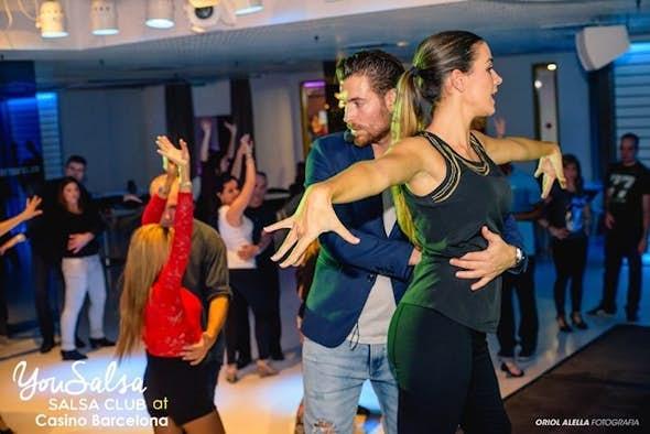 Salsa L.A workshop with Juanjo Oller and Sandra Mata