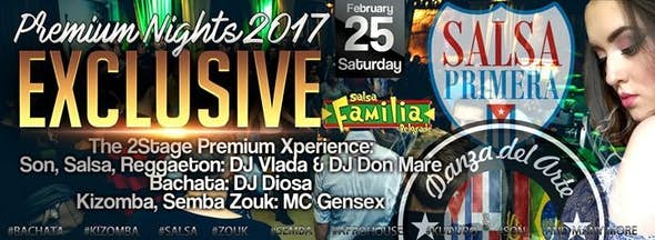 Premium Nights Exclusive 2017 - The 2Stage Xperience Subota 26.2