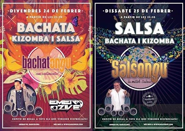 Bachatongu-Salsongu 24 i 25 de febrer
