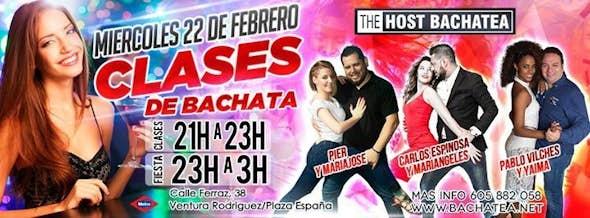Miercoles 22/02 Bachatea The Host