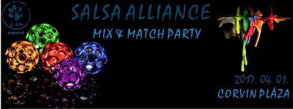 Salsa Alliance - Mix & Match Party, a Corvin plázában