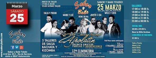 II Afrolatin Bachata Amateur - Sabor y Baile Toledo