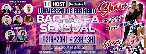 Thursday 23/02 Bachatea Sensual