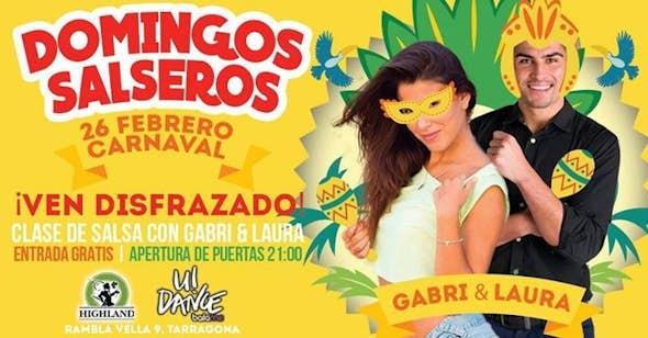 Domingos Salseros en Highland Tarragona - 26 Febrero Carnaval