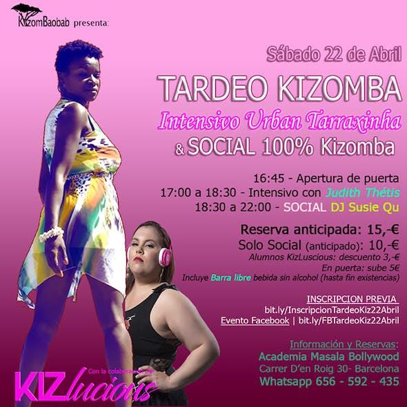 Tardeo Kizomba: Intensivo URBAN Tarraxa + Baile Social