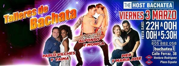 Viernes 03/03 The Host Bachatea