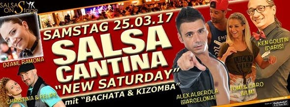 "Salsa Cantina ""Saturday"" Party mit Alex Alberola & Ken Golitin"