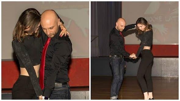 Bachata Sensual Grundstufe Workshop mit Ruben