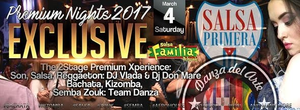Premium Nights Exclusive 2017 - The 2Stage Xperience Subota 4.3.
