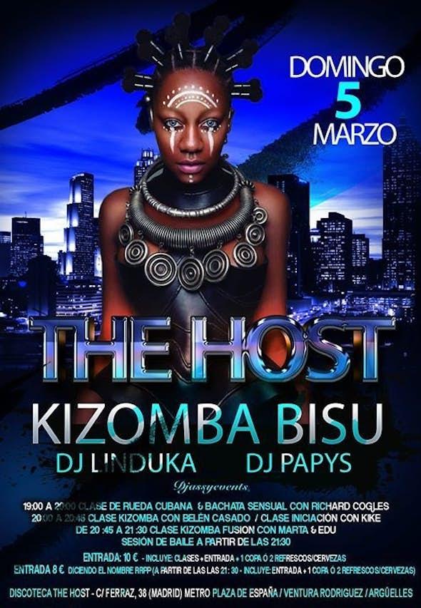 The Host Kizomba Bisú - Sunday 5th of march 2017