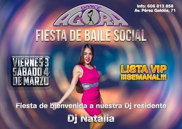 Fiesta del baile social viernes 3 y sábado 4 de marzo