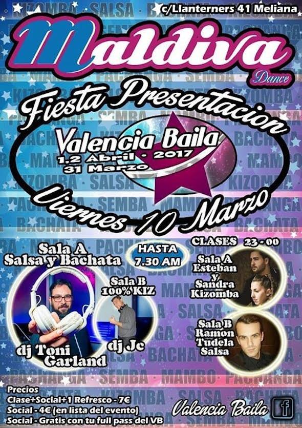 Fiesta presentación del Valencia BAILA 2017