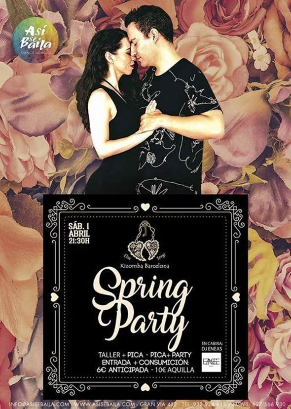Kizomba Spring Party - Kizomba Barcelona