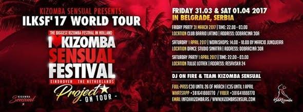 ILKSF 2017 - Kizomba Promo Tour Belgrade