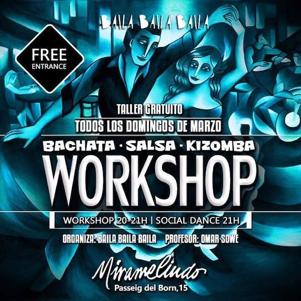 Sunday of Salsa, Bachata & Kizomba in El Born (Bcn)
