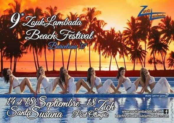 BEACH FESTIVAL ZoukLambada BARCELONA 2017 (9ª Edición)