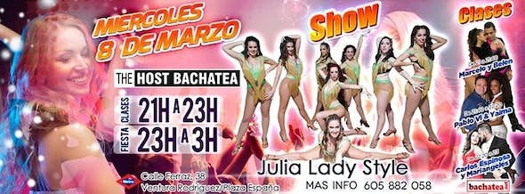Wednesday 08/03 The Host Bachatea