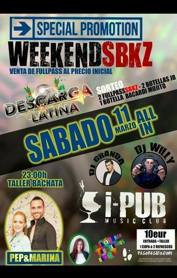 Descarga Latina Weekend SBKZ