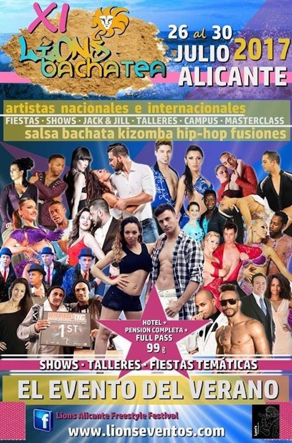 Lions Bachatea Alicante 2017 (11ª Edición)