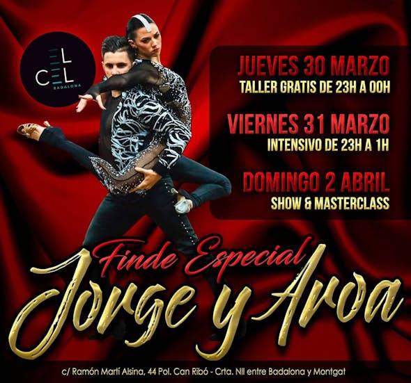 Intensivo 2h. bachata con Jorge y Aroa + fiesta en el Cel Badalona