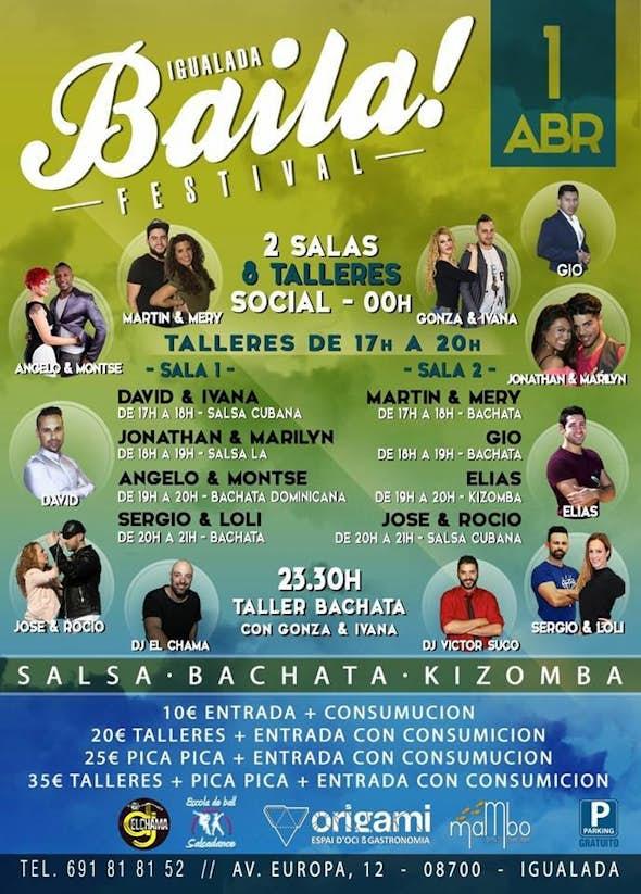 Igualada BAILA Festival April 2017