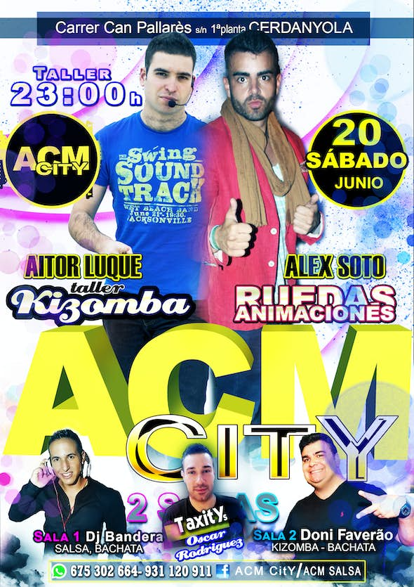 Saturday at ACM City