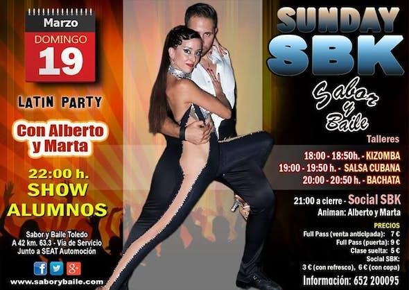 Sunday SBK con Alberto y Marta en Sabor y Baile Toledo