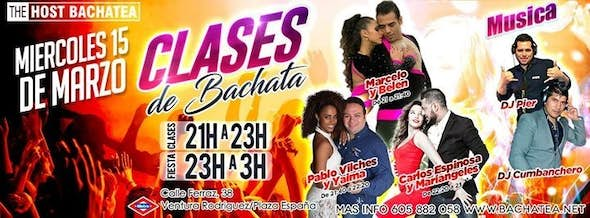 Wednesday 15/03 The Host Bachatea