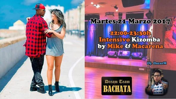 Kizomba workshop by Mike & Macarena + party
