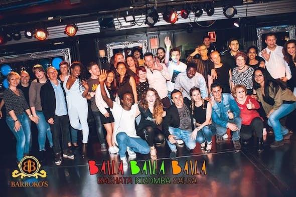 Viernes taller Bachata Kizomba Salsa Entrada Gratis (Barrokos)