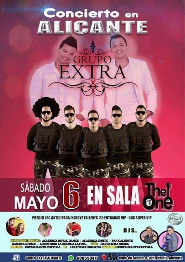 Concierto GRUPO EXTRA en Alicante 6 de Mayo