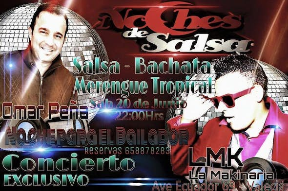 Concert and classes at salsa nights