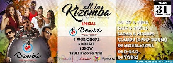 All In Kizomba ♫ Bembe Festival Promo Party