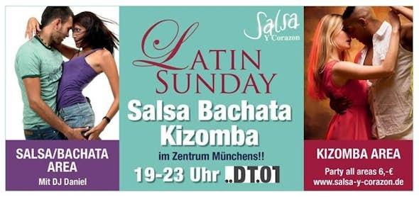 Latin Sunday - mit DJ Frank und kostenlosem Kizomba Kurs um 19 h