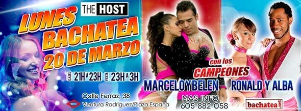 Lunes 20/03 The Host Bachatea