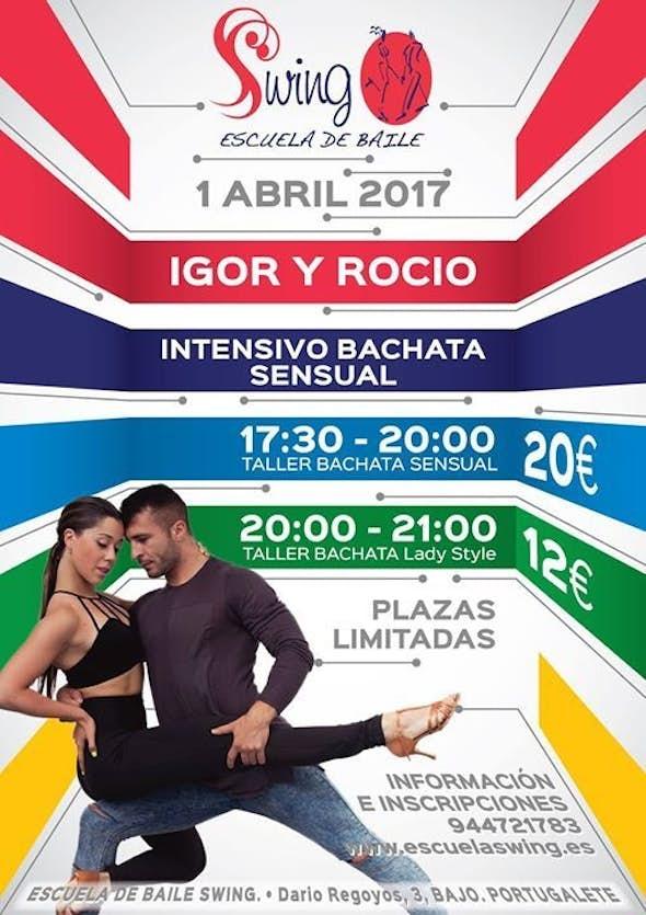 Intensive Bachata sensual with Igor and Rocio