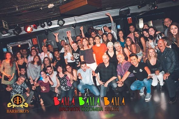 Friday workshop Bachata Kizomba Salsa Free Entry (Barrokos)