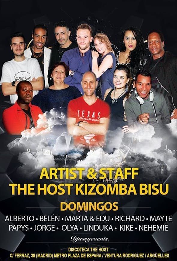 ★The Host of Kizomba Bisú★ Sunday 26th of march 2017