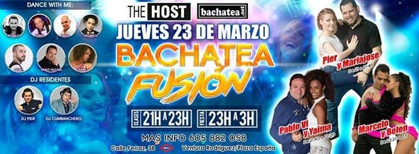 Thursday 23/03 Bachtea Fusión