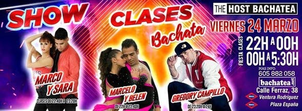 Friday 24/03 The Host Bachatea
