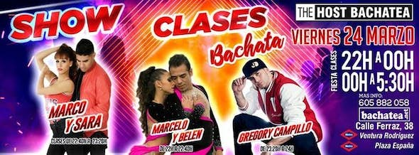 Viernes 24/03 The Host Bachatea