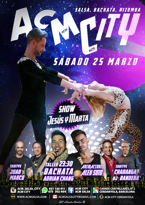 Sábado, 25: FIESTA en ACM CitY